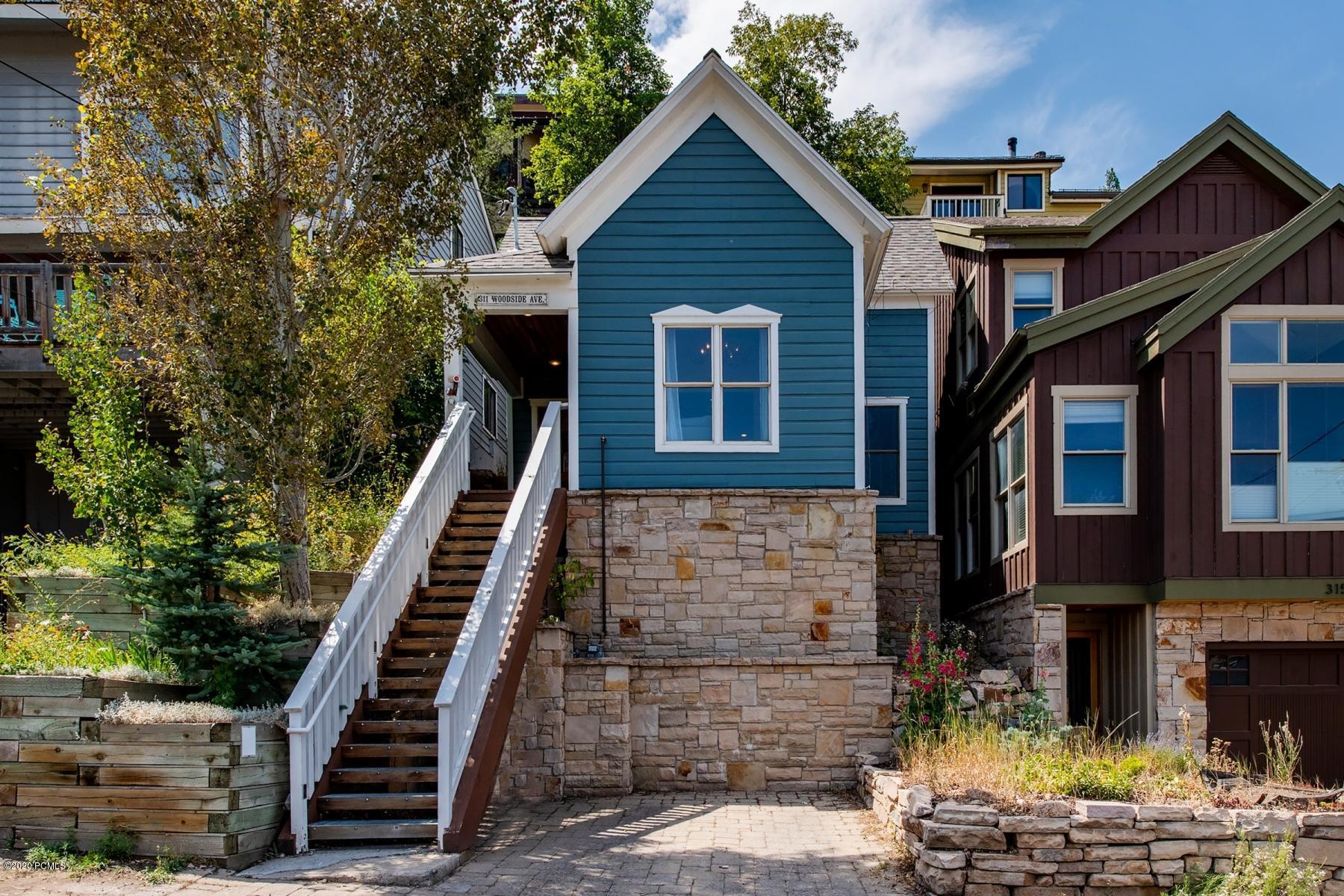311 Woodside Avenue, Park City, Utah 84060, 4 Bedrooms Bedrooms, ,3 BathroomsBathrooms,Single Family,For Sale,Woodside,12003186