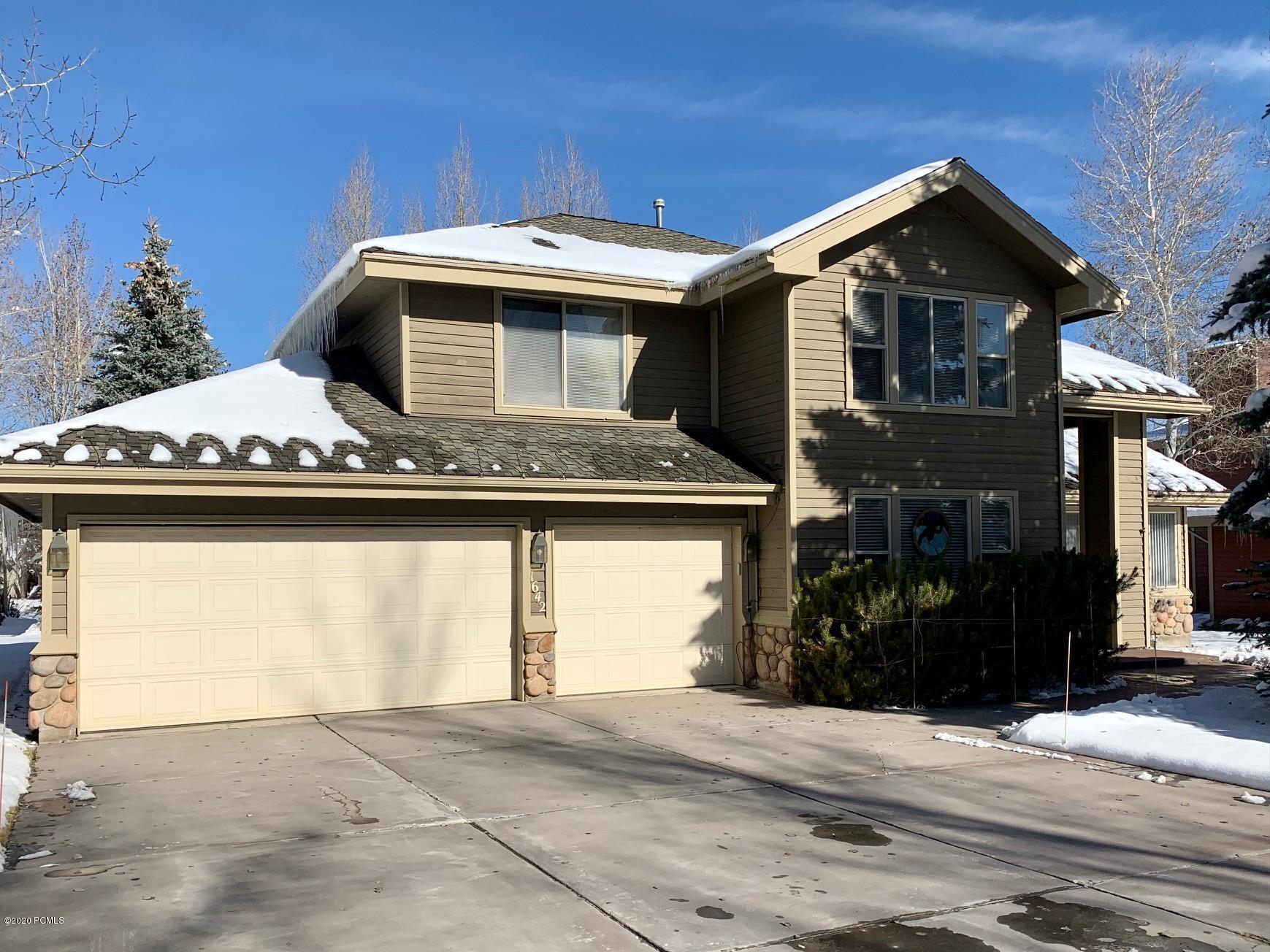 1642 Cutter Lane, Park City, Utah 84098, 4 Bedrooms Bedrooms, ,3 BathroomsBathrooms,Single Family,For Sale,Cutter,12004441