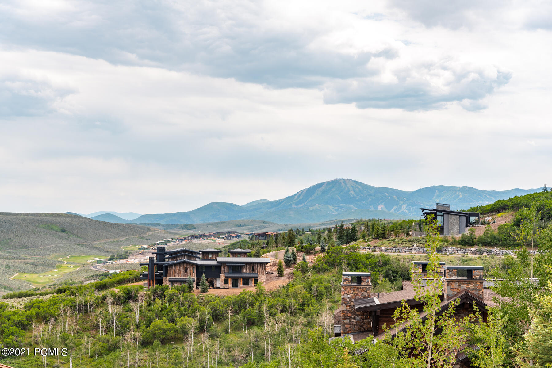 Tremendous panoramic views from this Deer Crossing homesite with views of Deer Valley, the Uinta mountains, and the Kamas Valley. Full golf membership available for purchase from Promontory Club with no waiting list. This beautiful setting lets you enjoy morning sunshine and afternoon and evening shade with an abundance of wildlife year-round. Gradual slope for a downhill build and full walkout lower level that will accommodate up to 8,000 livable square feet. One of Promontory's best opportunities.