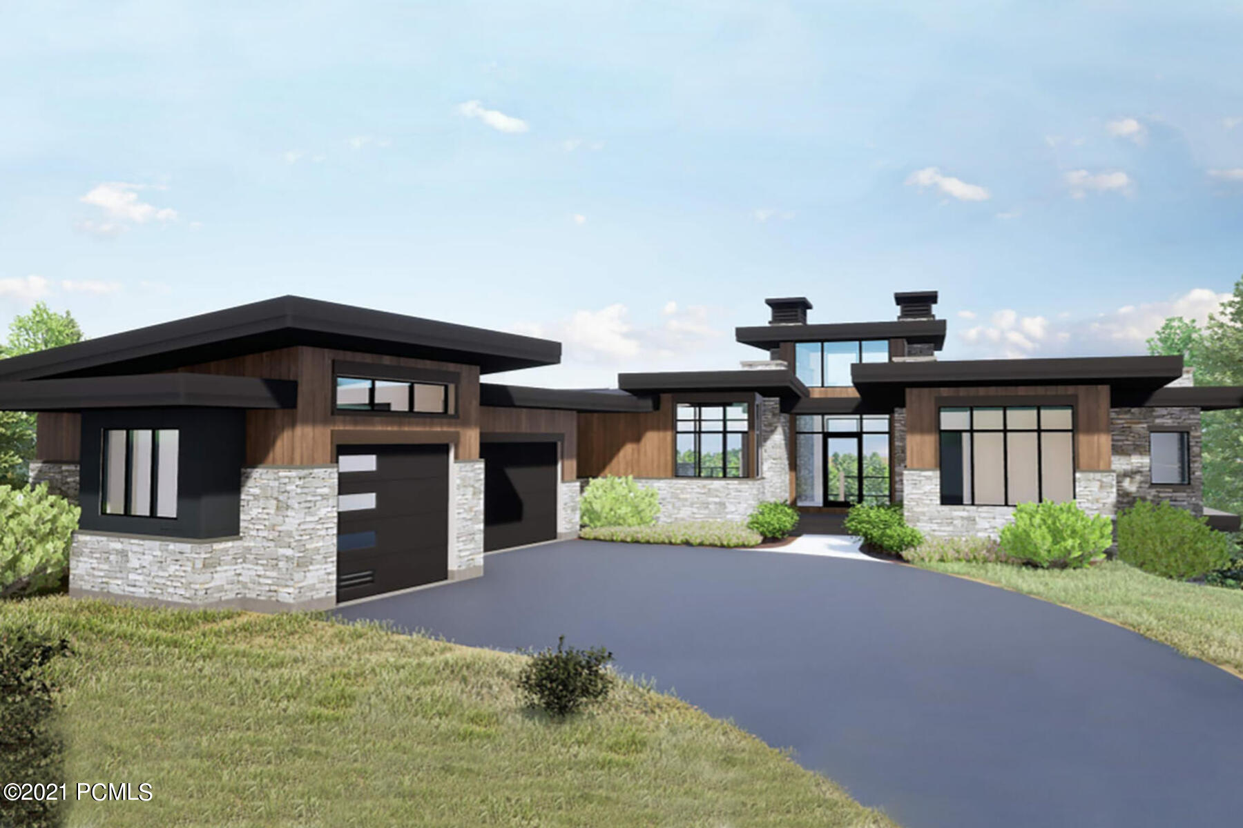 Located in the exclusive West Hills neighborhood of Promontory, this contemporary new build boasts unobstructed, panoramic ski resort views and sits across the street from the Pete Dye Golf Course. Blake Miller Homes spares no expense in finishes and design. You'll be spoiled with over 1650 square feet in covered, heated outdoor space for you to relax and soak in the surroundings views on one of the most coveted lots in Promontory. Enjoy main level living with a large foyer, secluded study and spacious master suite. The modern open kitchen with Wolf appliances, and wine room adjacent to the formal dining area is an entertainers dream. The spacious lower level offers a game area, wet bar, exercise room, media room, and additional outdoor living space for casual gathering large or small. Enjoy Promontory club's incredible amenities while experiencing a modern home with some of the most sought after views Park City has to offer.