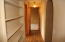 Hallway to bedroom and bath