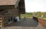 Huge Back Deck Looking Out Over The 48 Acre Spread!