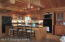 Huge Breakfast Bar, Double High End Wall Ovens, Glass Fronted Cabinets!