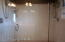 Glass Shower With Double Shower Heads Fit For A King & Queen !