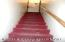 Stairs to the 2nd floor and room rentals