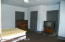 One of the larger rental rooms, furnished
