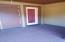 Decking in-between bedrooms