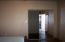 Closet with sliding mirror doors