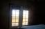 French doors to private patio