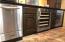 Built in Ice maker, mini fridge and wine cooler
