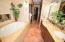 Jacuzzi Tub and Double Sinks