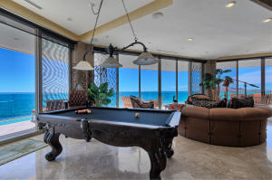 Luxury Condo Great Room with Pool Table and Stellar Views