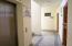 Elevator, Wide Hallway, Stairwell