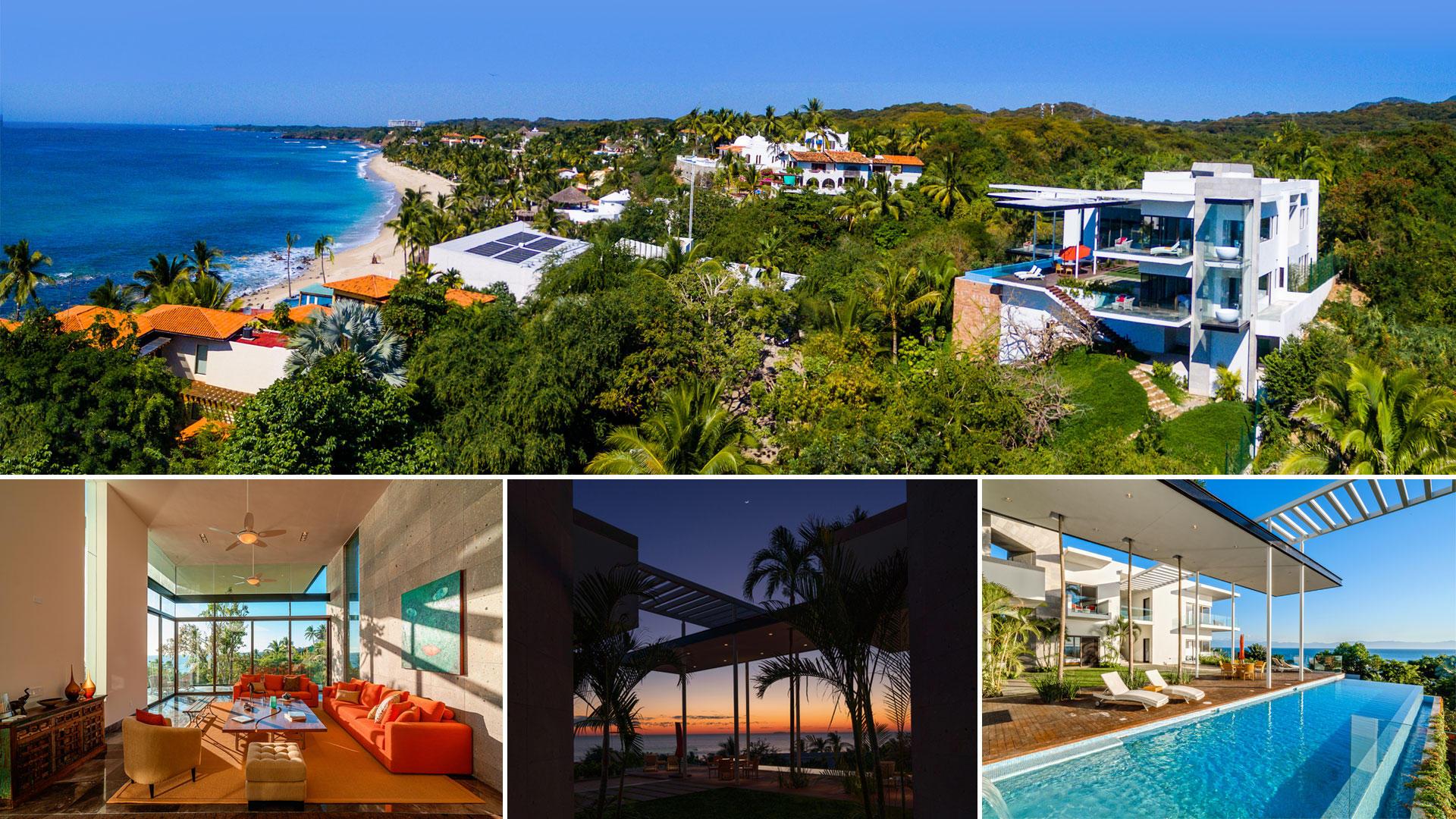 Punta De Mita, 5 Bedrooms Bedrooms, ,7 BathroomsBathrooms,House,For Sale,PUNTA DEL BURRO,7654
