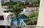 View from Balcony area to Pool