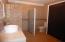 Extra large main bathroom with closet