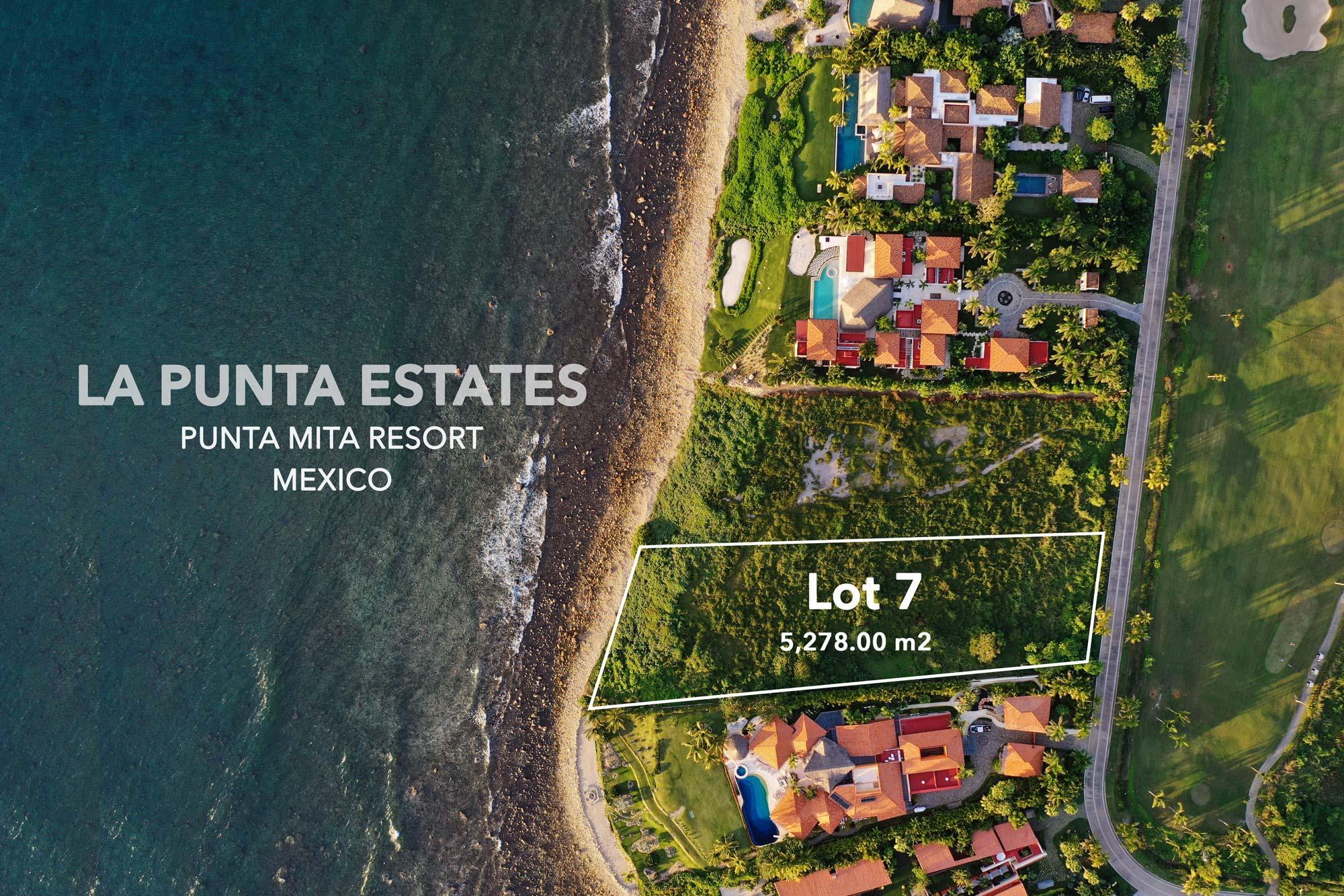 Punta Mita Resort, ,Land,For Sale,LA PUNTA ESTATES,14285