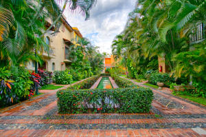 Mexican Colonial Charm - lots of lush, vegetation and vibrant colors