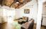 Three level two-bedroom unit living room
