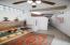 Three level two-bedroom unit kitchen