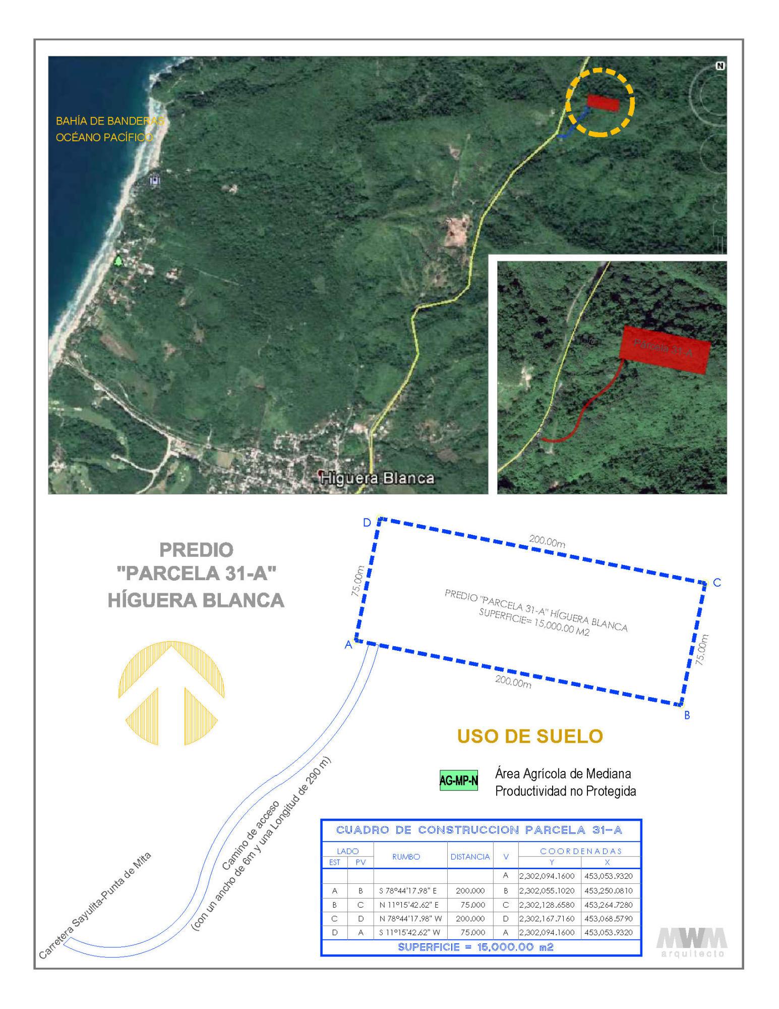 Higuera Blanca, ,Land,For Sale,Carr Sayulita - Punta Mita,16094