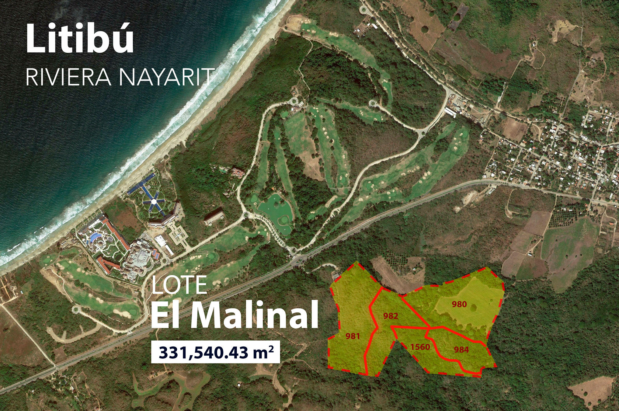 Litibu, ,Land,For Sale,Punta Mita - Sayulita,17143