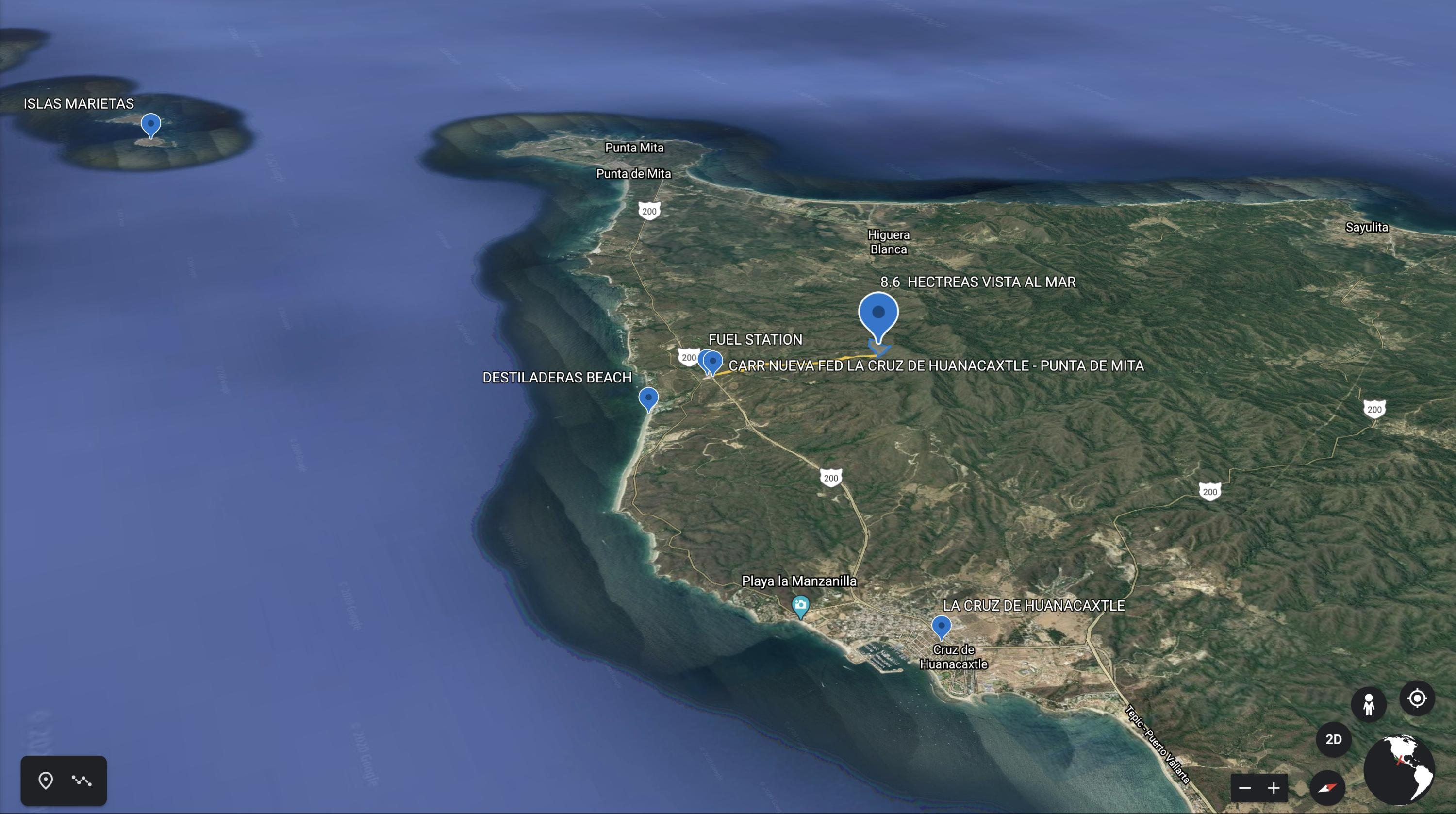 Punta de Mita, ,Land,For Sale,CARR FED LA CRUZ-PUNTA DE MITA,18201