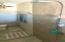 New ceramic tile, rain shower and toilet