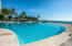 Heated infinity pool right on beach front