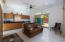 Kitchen , living area Casita
