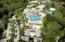 Aerial of resort amenities and facilities