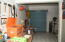 LARGE bodega and tool room. Tools included!