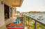 Full double balcony spans the Penthouse VIEW, VIEW, VEIW!....