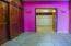 Double closet walk thru to huge master bath,