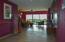 Very spacious entry hallway