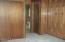 Large Closet an private bath.