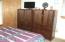 Large bedroom up.