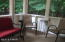 Off Dining Area, an extra place for you & guests.