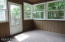 Screened Porch with Access to Rear Deck & House