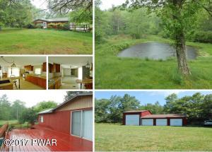 Home Pond and garages on almost 3 acres!