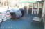 Deck is large, easy access from Dining Room & Laundry Room