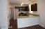 Here is a full view of the designer kitchen.