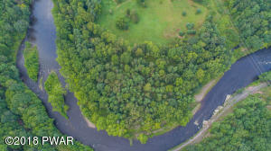 Imagine owning this sweeping bend in the Lackawaxen River!