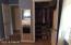 Second closet in master bedroom