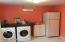 Huge laundry room