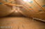 Unfinished attic can easily be finished for bedroom or recreation room