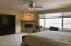 Master Bedroom En Suite with Fireplace / Main Level