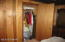 Lots of closets in this Seasonal Lake View home.