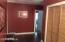 Large hallway with closet