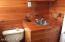 Beautiful pine bathroom